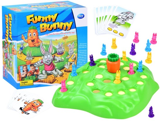 Merry Rabbits race arcade game GR0002