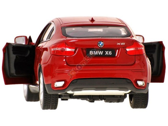 Metal Auto SUV BMW X6 + Remote R / C RC0139