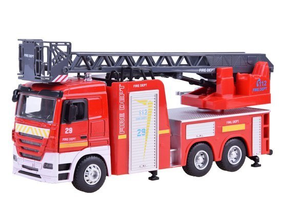 Metal Fire Brigade sound ladder ZA3068