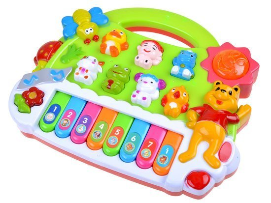 Musical Sounds of animals harmonica pianinko ZA0802
