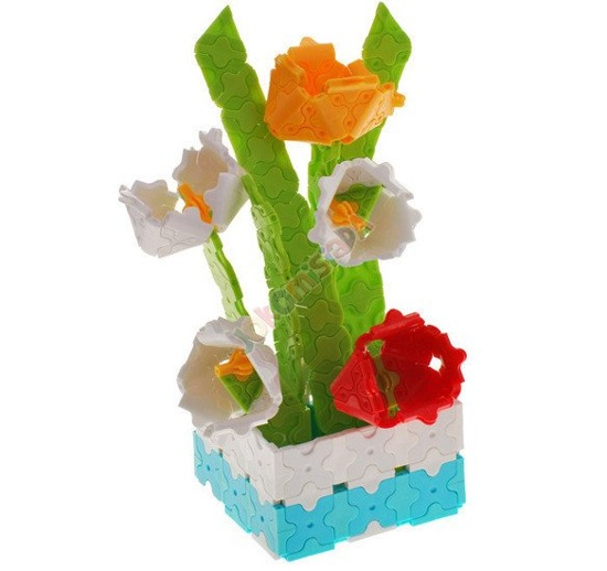 NEW Creative building blocks make BOUQUET OF FLOWERS ZA0176