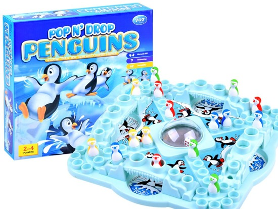 New Chinese Family Game Race Penguins GR0025