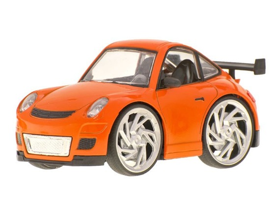 New SENSORY painted toy car ZA1372