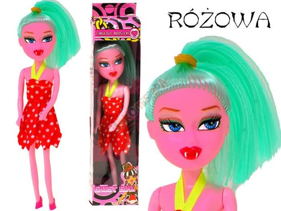 New, trendy, weird GHOST GIRL DOLL ZA0472