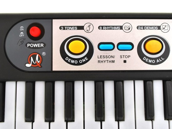 ORGAN KEYBOARD 39 keys  microphone IN0021