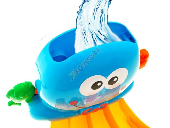Octopus or duck bath toy ZA1464