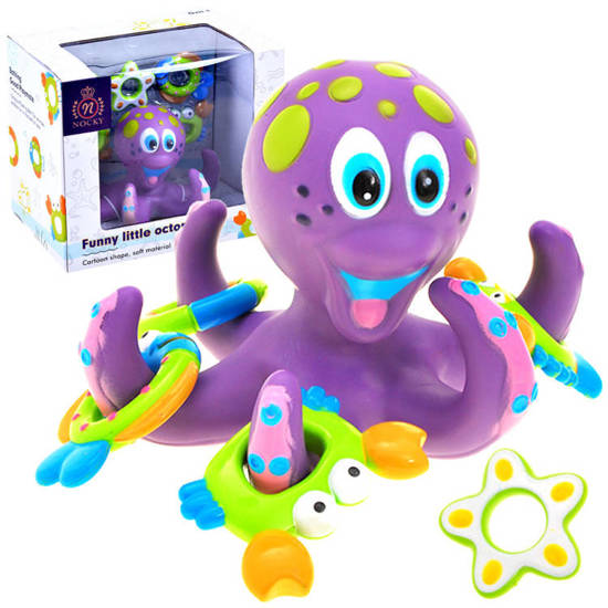 Octopussy bath toy accessories ZA1552