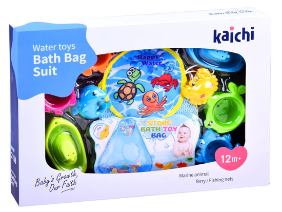 Organizer for bath toys + toys ZA2888
