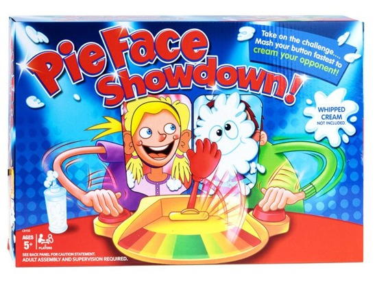PIE FACE Showdown new version for 2YOZ GR0155