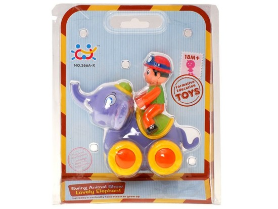 Pets on wheels Horse Elephant Giraffe ZA1177