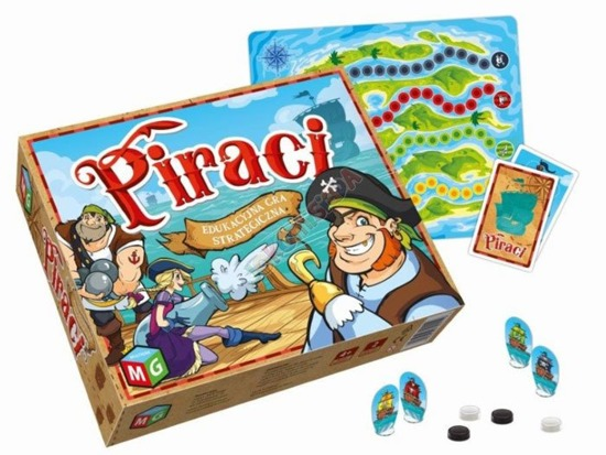 Pirates board game adventure strategy GR0293