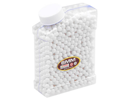 Plastic balls for gun cartridges 6 mm ZA2474