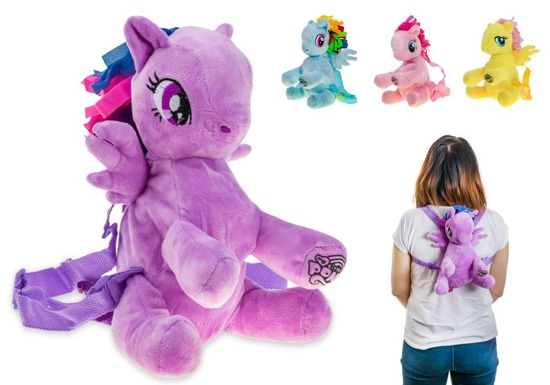 Plush backpackMy Little Pony HUGGZZZZZ ZA2297
