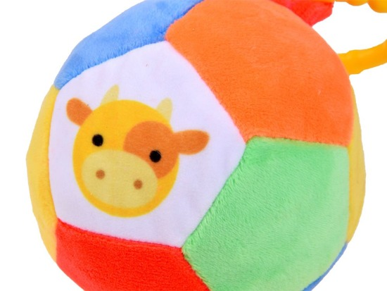Plush colorful BALL soft pendant ZA2392