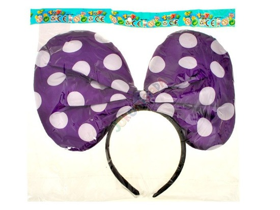 Pretty TIE shining Mouse ears peas ZA1317