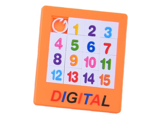 Puzzle of the DIGITS puzzle game GR0333