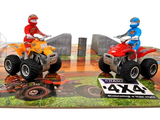 Puzzle racetrack quads + ramp ZA1207