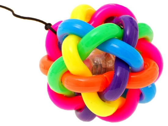 RUBBER BALL with headband GR0103
