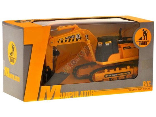 Remote control excavator on tracks RC0286