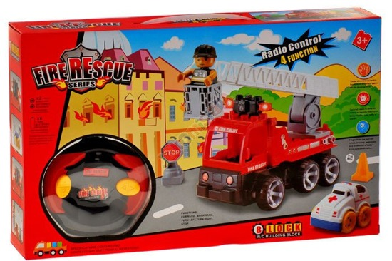 Remote-controlled cars and construction ambulance RC0095