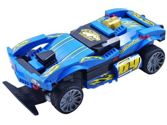 Remotely controlled auto BLOCKS rally car 101 e RC0363