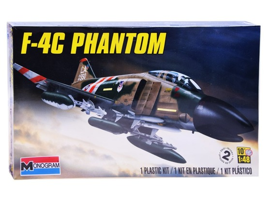 Revell Airplane Model F4C Phantom scale 1:48 RV0012