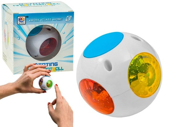 Rotating Glowing Sphere Spinner ZA2323