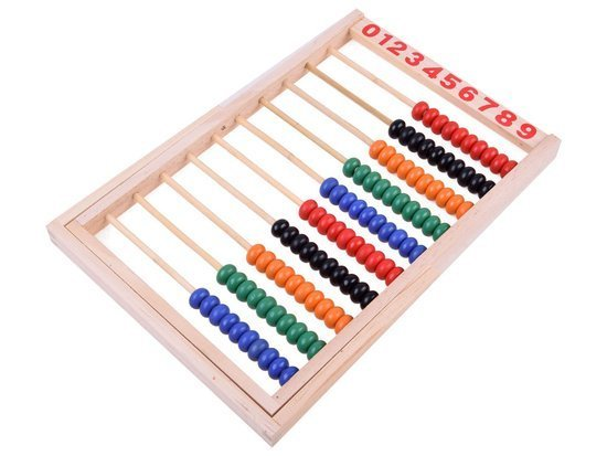 School abacus wooden color ZA1838
