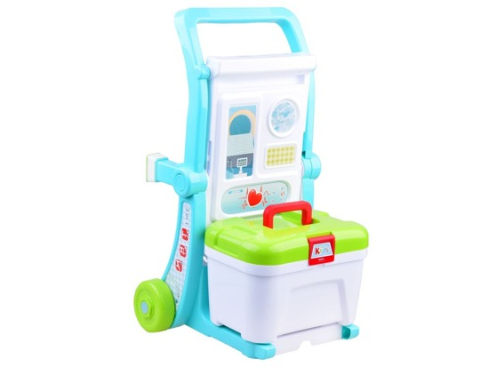 Set 3in1 medical trolley table ZA2814 suitcase