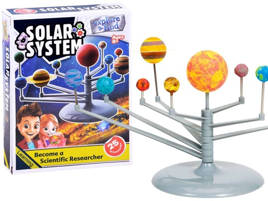 Set Construct the solar system of the planet ZA2918
