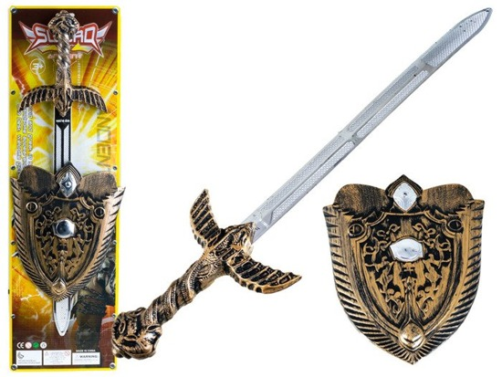 Set for the knight warrior sword shield ZA0831