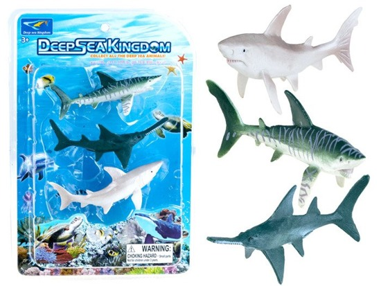 Set of aquatic animals shark ZA0720