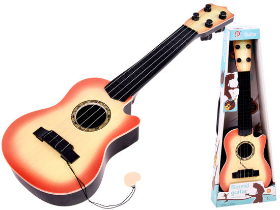 Small 4-string guitar for children, feather IN0120