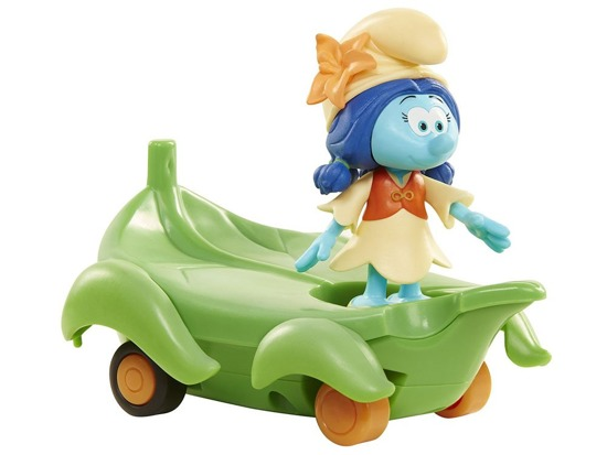 Smurf figurines +  vehicle ZA2770