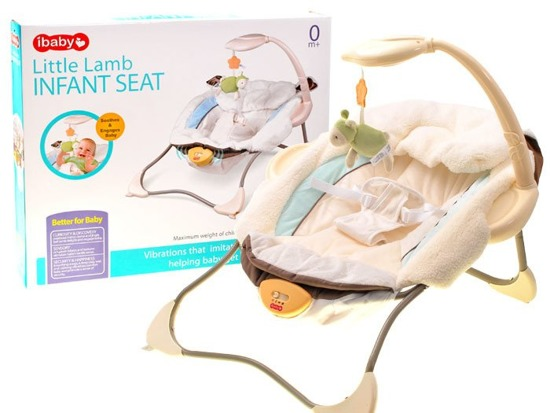 Soft comfortable baby bouncer SEAT ZA1713