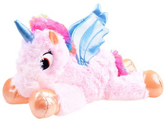 Soft toy. Rainbow Unicorn mascot ZA3030