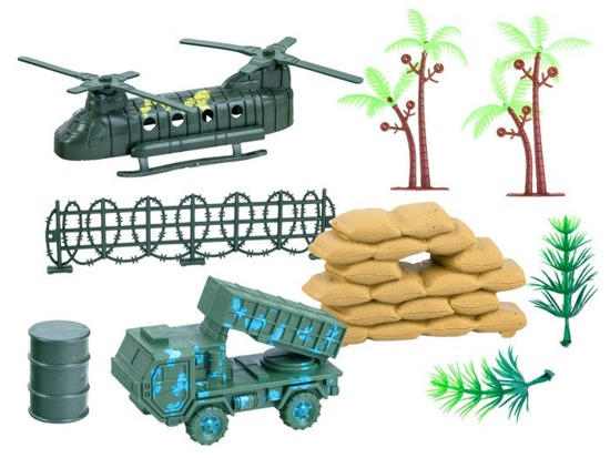 Soldiers with accessories Army ZA2120
