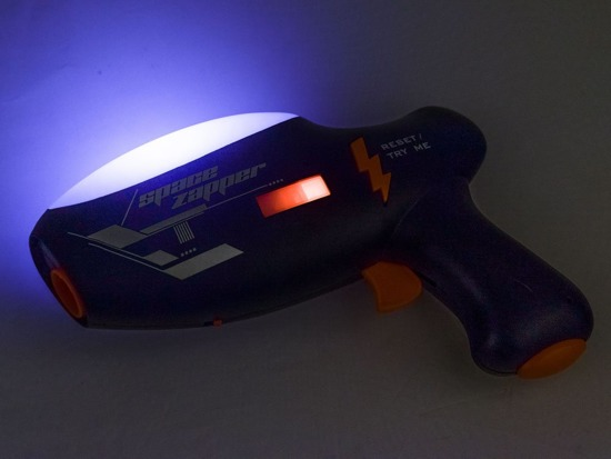 Space weapon BLASTER + laser PROJECTOR ZA0146
