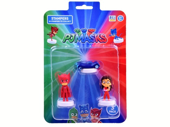 Stamps of the PjMasks Pajamas figure 3 pcs ZA3019