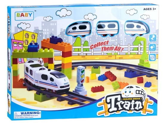 Super train set + train 69 elephants RC0407