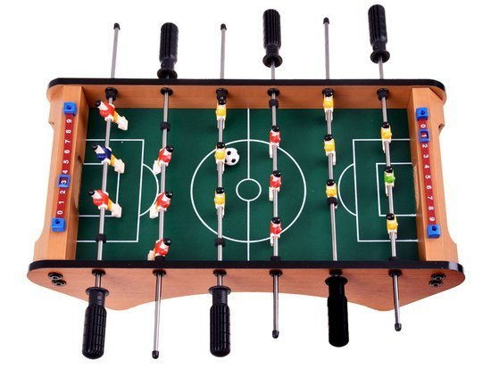 Table football game, wooden mini table GR0420