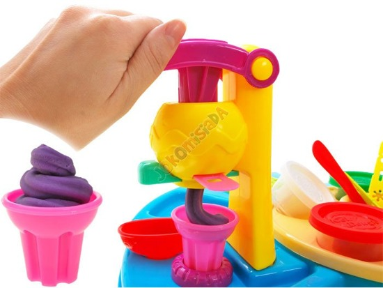 Table + mold creative set Dough ZA1861