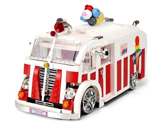 Technical blocks AUTO Ice Cream Parlor 1000 pcs ZA2966