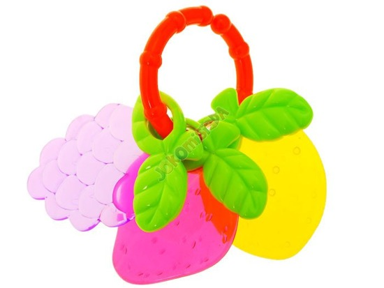 Teether shaped fruit ZA1297