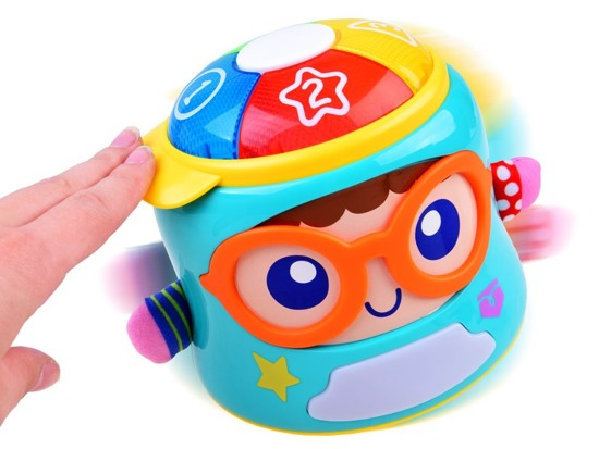 The interactive toy music box is played by ZA2829