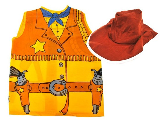 The policeman costume costume Indian Cowboy Knight ZA1214