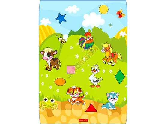 Thick foam carpet rug ANIMALS ZA1031