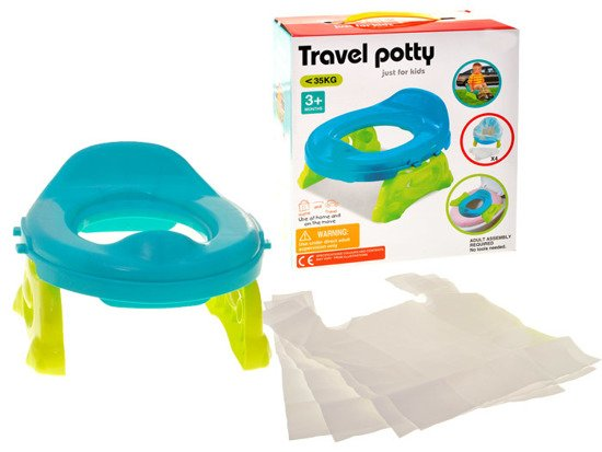 Tourist potty to toilet 2in1 stand ZA0778