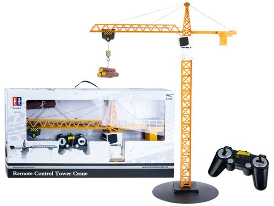 Tower crane 1:20 rotary360 ° pilot 2.4GHz RC0320