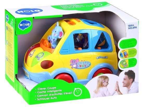 Toy SMART BUS-out blocks ZA0017 DF